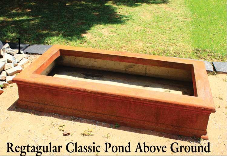 Square Rectangular Ponds Hey Pots